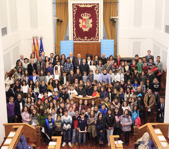 Niños de Castilla-La Mancha piden ser escuchados para construir un mundo mejor