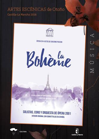 La Boheme, ópera de Puccini en el Teatro Buero Vallejo