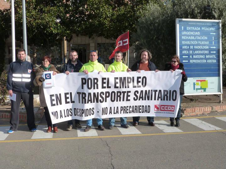 CCOO se pone muy serio contra el pliego de transporte sanitario del Sescam