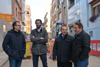 Cerca de 65.000 euros en la mejora de la red de saneamiento de las calles Páez Xaramillo y Alvargómez de Ciudad Real