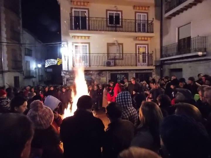 El próximo miércoles 7 de diciembre arderán de nuevo las hogueras en Horche en honor a la Purísima