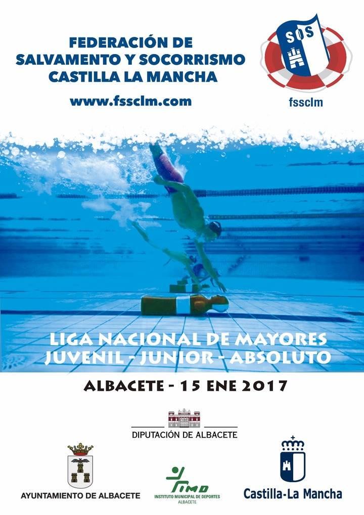 La élite de salvamento deportivo nacional competirá este domingo en Albacete