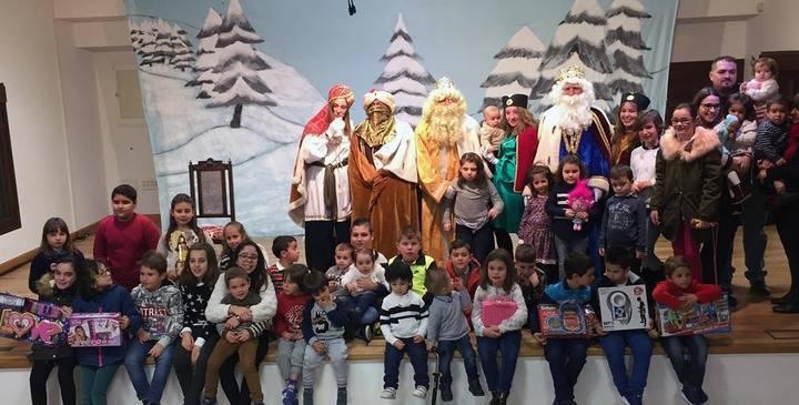 Actos entrañables y con gran participación de público en la Navidad de Yebra