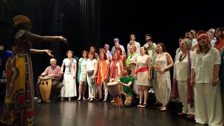 "La Escuela de Música de Cabanillas organiza por segundo año un ""Taller de Música Africana"""