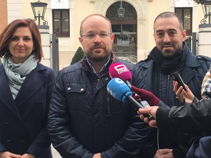 """Alejandro Ruiz: """"Estamos decepcionados por esta situación porque C's podría haber hecho un gran trabajo en la Diputación"""""""