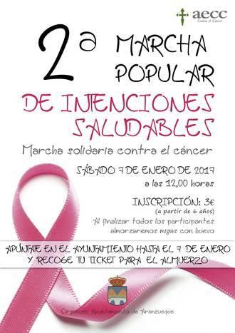 Aranzueque celebra su II Marcha Popular de Intenciones Saludables