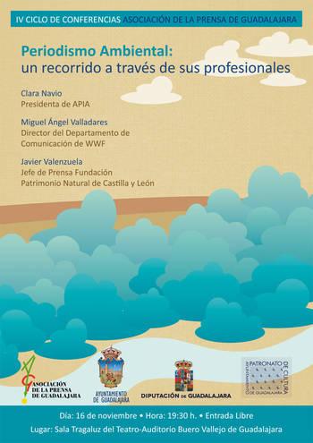 IV Ciclo de Conferencias de la Asociación de la Prensa de Guadalajara