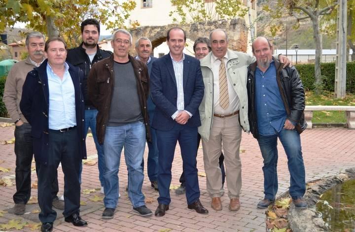 Alberto Rojo visita Mochales, Algar y Villel de Mesa