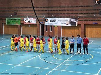 Pese al buen juego de la primera parte, las chicas del Alovera no pudieron con el Colme Futsal