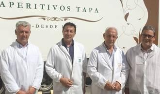 El director provincial de Agricultura visita la empresa Aperitivos Tapa, en la que actualmente trabajan 59 personas