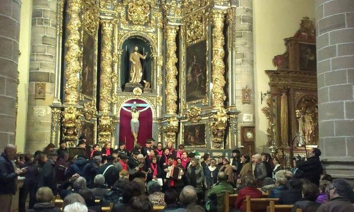 Atienza volvió a dar la bienvenida a la Navidad con el Certamen de Villancicos