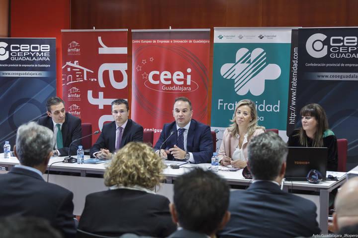 """""""Impuestos Cero"""" y espacios Coworking, dos de las apuestas del Ayuntamiento de Guadalajara para fomentar el emprendimiento"""