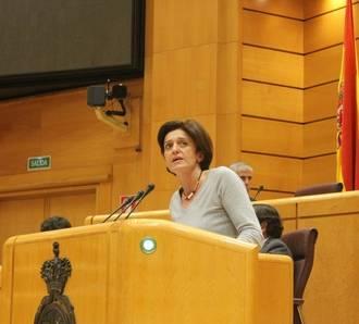 Ana González defiende en el Senado una iniciativa para que el Gobierno elabore un Plan Nacional de lucha contra el acoso escolar