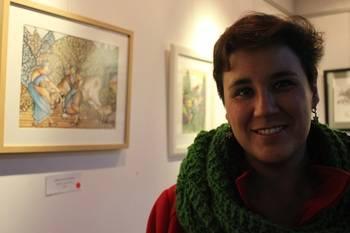 El lenguaje simbólico, ilustrativo y sensual de Ana Oniria Rodríguez irrumpe en la Sala de Arte de Valdeluz