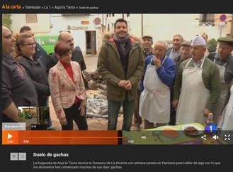 Pastrana y su Concurso de Gachas, protagonistas en Televisión Española