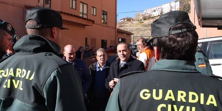 """Las obras del cuartel de la Guardia Civil de Atienza, """"ejemplo de colaboración entre instituciones"""""""