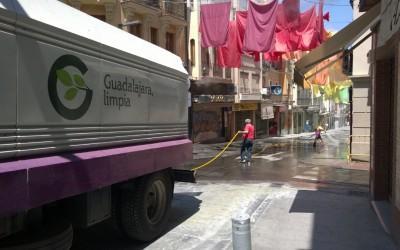 Los 3 sindicatos anuncian una huelga en la recogida de basuras de Guadalajara