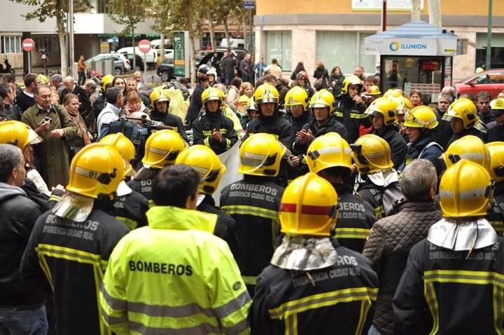 La cosa está que arde en los bomberos de Ciudad Real