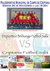 Importante partido el que disputará el Deportivo Brihuega este sábado en Campo de Criptana