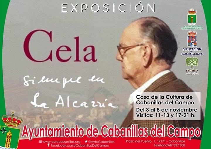 """Cabanillas se suma a los actos del Centenario de Cela y del 70 aniversario del """"Viaje a la Alcarria"""""""