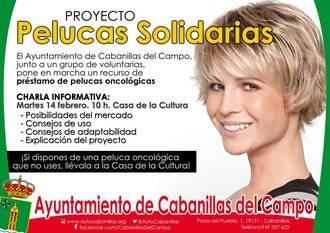 """Cabanillas lanza el proyecto """"Pelucas Solidarias"""" para ayudar a enfermas oncológicas"""