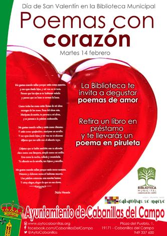 La Biblioteca de Cabanillas se pone romántica por San Valentín