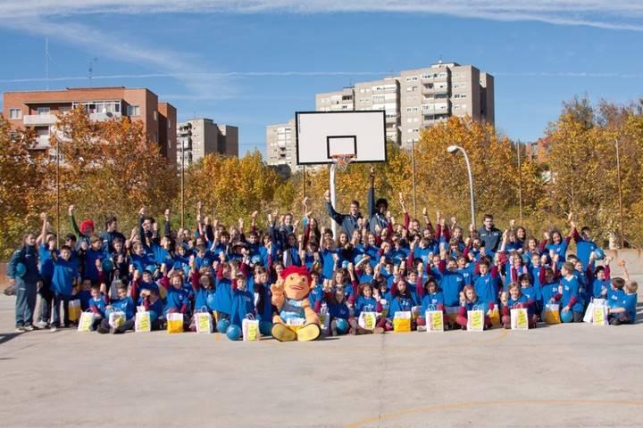 Semana de ERASMUS+ para alumnos de Primaria en el Colegio Santa Cruz
