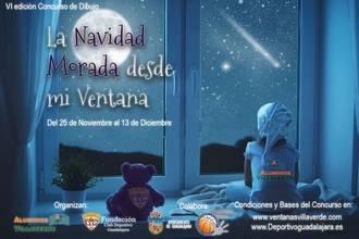 Llega la VI edición del concurso de dibujo de Navidad de la Fundación C.D. Guadalajara y Aluminios Villaverde