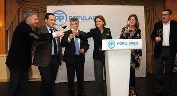 Cospedal resalta que somos el partido que cree en la libertad, en la creación de empleo y en la unidad de España