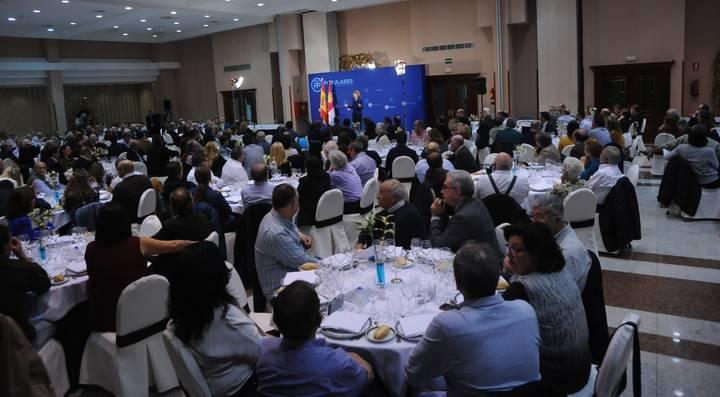 """Cospedal en Guadalajara: """"Hoy en Castilla-La Mancha se están yendo las empresas a comunidades vecinas"""""""