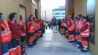 Cruz Roja Española en Guadalajara homenajea la figura del Voluntario con especial atención en la Intervención en Emergencias