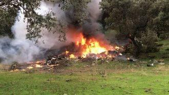 Cuatro muertos al estrellarse en Toledo la avioneta en la que viajaban