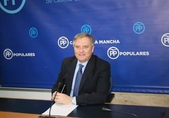 """Cañizares indica que cuando Podemos habla de """"necrosis y parálisis"""" se refiere a """"la situación que vive la región por su pacto con Page"""""""