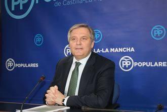 """Cañizares denuncia que los Consejos de Gobierno itinerantes de Page """"son una tomadura de pelo para los castellano-manchegos"""""""