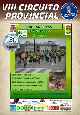 El domingo 22, cuarta jornada del VIII Circuito Provincial de Canicross