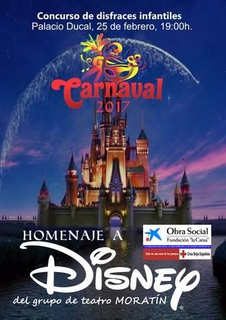 Homenaje a los clásicos de Disney en el Carnaval de Pastrana