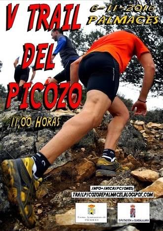 El domingo 6 , V Trail del Picozo en Pálmaces, última carrera del Circuito de Montaña que organiza Diputación