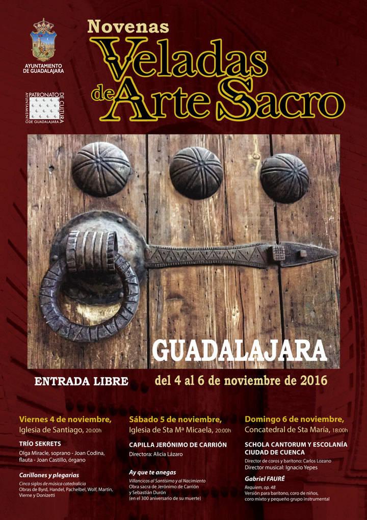 Las IX Veladas de Arte Sacro, este próximo fin de semana en Guadalajara