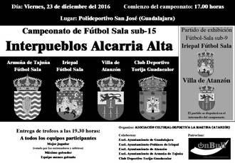 Campeonato Alcarria Alta de Fútbol Sala con nuevos equipos participantes