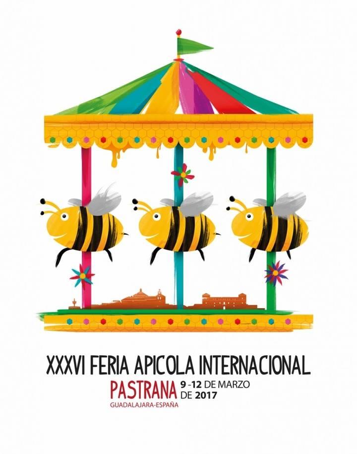 La XXXVI Feria Apícola Internacional de Pastrana ya tiene cartel anunciador