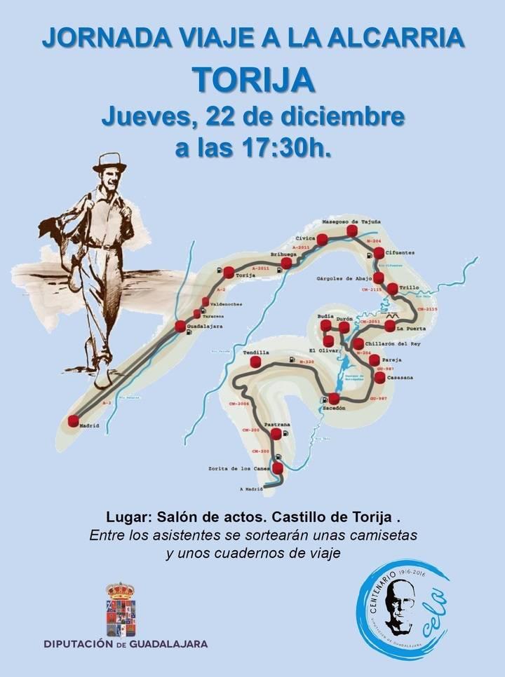 La Diputación organiza 10 charlas sobre el Viaje a La Alcarria con el objetivo de implicar a la sociedad en el desarrollo de la zona
