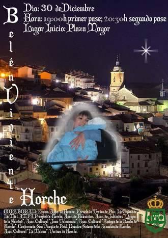 Un Belén Viviente, principal novedad en el programa navideño de Horche con más de 30 actividades previstas