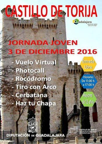 La Diputación organiza actividades infantiles para este sábado en el castillo de Torija