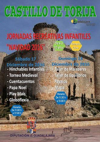 Intenso fin de semana de actividades infantiles en el castillo de Torija