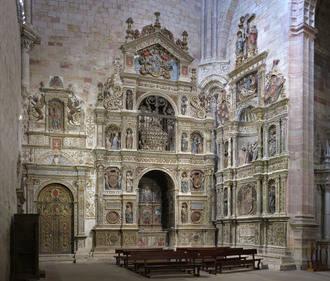 Comienzan diversos trabajos de restauración en la Catedral de Sigüenza