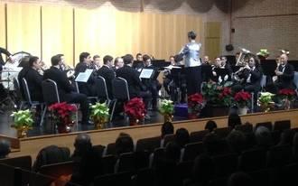 La Banda de Música de la Diputación de Guadalajara ofreció un espléndido
