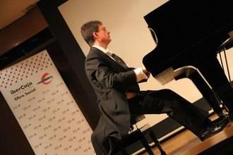 Brenno Ambrosini mostró en el Auditorio Ibercaja de Guadalajara su pasión por Beethoven