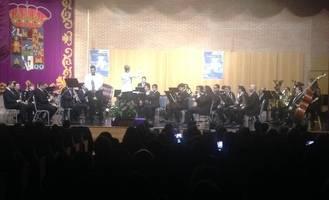 La Banda de Música de la Diputación de Guadalajara ofreció un brillante un
