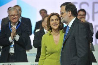 """Cospedal: """"Con Rajoy, el PP tiene un liderazgo más que indiscutible"""""""