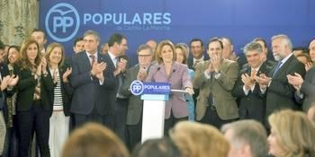 Cospedal da un paso al frente para seguir presidiendo el PP de Castilla-La Mancha